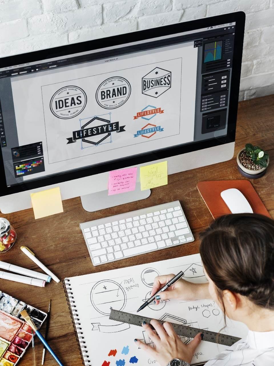 İhtiyacınıza özel Logo, video ve materyal ekleme özelliği